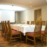 Christopher's private meeting room can accommodate up to 25 delegates