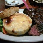 Steak of the Millennium and their famous Au gratin potoatoes
