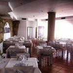 A nossa sala de almoços/jantares