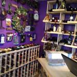 Wine shop of Yadkin Valley Wines inside Heaven Scent