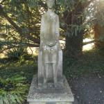 The Virgin Statue at the end of Virgins Walk