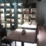 Die Vinothek im Untergeschoss