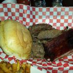 Two meat plate