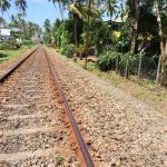 Железная дорога к пляжу