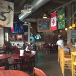 Brew Pub dining area!