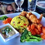 Try our Coconut Curry Shrimp Entree!