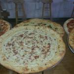 Always an assortment of pies by the slice
