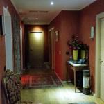 il corridoio che immette nelle stanze