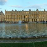 Le château de Versailles, non loin du Novotel....
