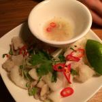 fried squid. a favourite.