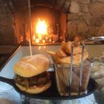Delicious Boar Burger
