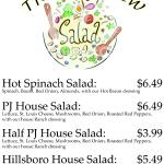 Try our NEW salads