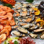 Seafood selection.