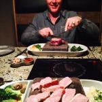 Rok pork & New York steak