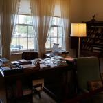 Eudora's office in her bedroom.