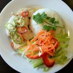 Spicy Coconut Chicken and Jasmine Rice