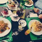 Lunch / Pasta, Squids, Meat