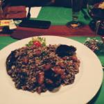 Dinner / Black Rissoto