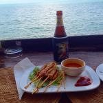 Great satay and view- service was mixed