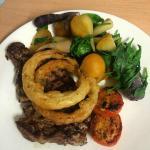 Steak & Seasonal Vegetables
