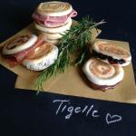 Tigelle traditional or vegetarian