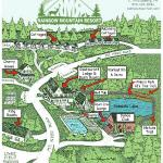 Resort Map of 25 acres.