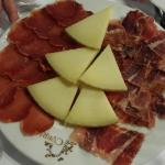 Jamon, lomo y queso