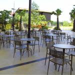 The Breeze BSD City outdoor seats area