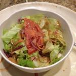 Salad love the dressing