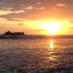 Sunset at Playa Dominical