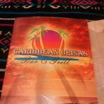 Very nice menus