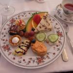 Plated Tea Treets