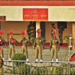 BSF Jawans at Wagah Border