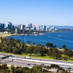 Swan river view from Kings Park