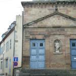 Eglise Saint-Croix de Saint Pourçain sur Sioule.