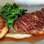 pan fried duck breast