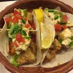 Baja fish wrap. Musy try!