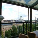 Ravintola Savoy, Helsinki, city views.