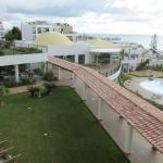 Cerro mar uitzicht vanaf appartement 2