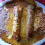 Beef Enchiladas with chili sauce -Enchiladas Y Mas