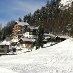 Le Grand Chalet from the slopes 2