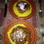 Lamb tagine & delicious chicken dish x