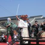 佐原の伝統的な踊り