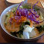 House Salad with miso dressing