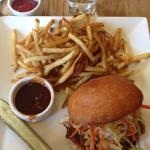 The Piggy: pulled pork with slaw