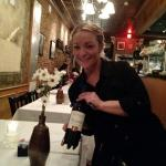 Our wonderful waitress Amber. Thanks to you and all of the staff that went our of their way to m