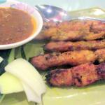 Chicken Satay, Penang Garden Restaurant, Milpitas, Ca