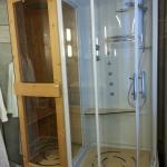 Douche sauna aventurine
