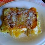 Ottime davvero le lasagne ai carciofi!