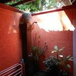 outdoor bathroom of room no. 1